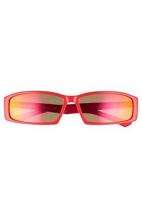 Balenciaga 60mm Rectangle Sunglasses   Nordstrom