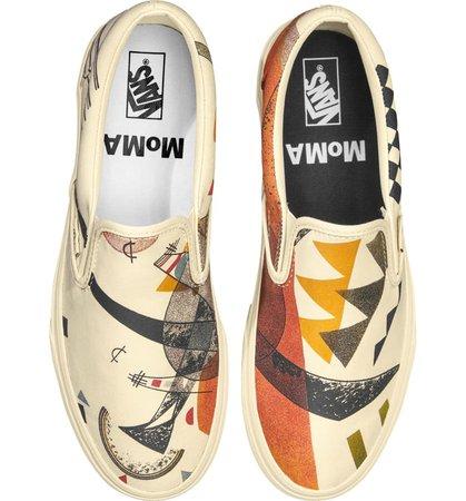 Vans x MoMA Vasily Kandinsky Classic Slip-On Sneaker (Women) | Nordstrom