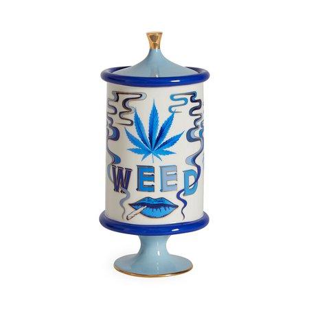 Druggist Weed Canister   Modern Pottery   Jonathan Adler