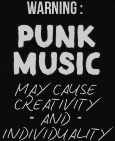 punk music quote