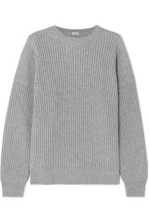 Loewe | Oversized ribbed cashmere sweater | NET-A-PORTER.COM