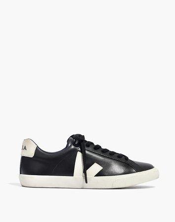 Veja™ Esplar Low Sneakers in Black Leather