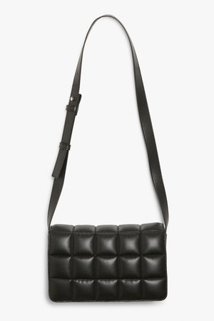 Quilted shoulder bag - Black - Bags - Monki WW