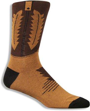 Men's Cowboy Boot Socks | Joy Of Socks