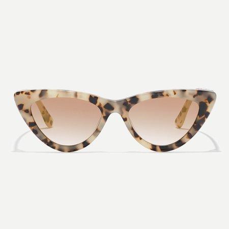 J.Crew: Bungalow Cat Eye Sunglasses For Women