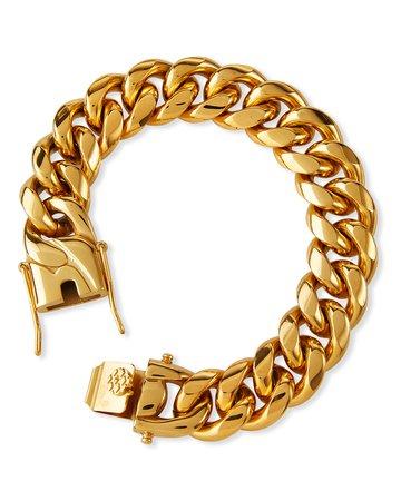 FALLON Ruth 16mm Curb Chain Bracelet