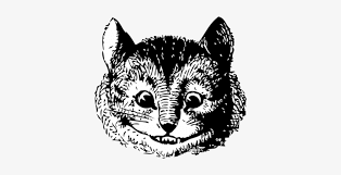 alice in wonderland cat png - Google Search