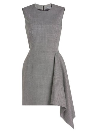 Alexander McQueen - Wool Dress with Handkerchief Hem - Sale!
