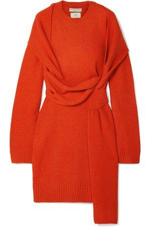Bottega Veneta | Belted wool dress | NET-A-PORTER.COM