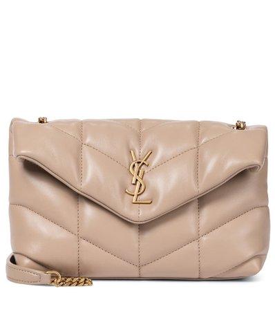 Saint Laurent - Loulou Puffer Toy leather shoulder bag | Mytheresa
