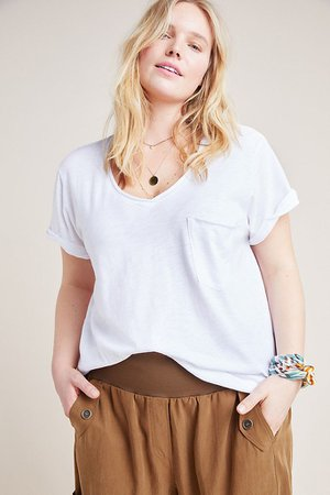 Classic V-Neck Tee | Anthropologie