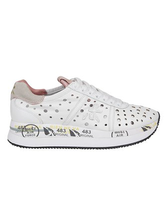 White Leather Sneakers,m