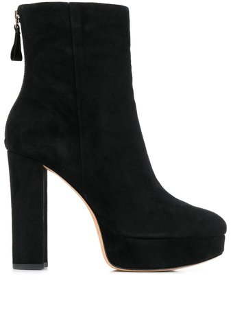 Alexandre Birman Heeled Ankle Boots B3527200010001 Black | Farfetch