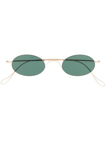 Haffmans & Neumeister Round Frame Sunglasses