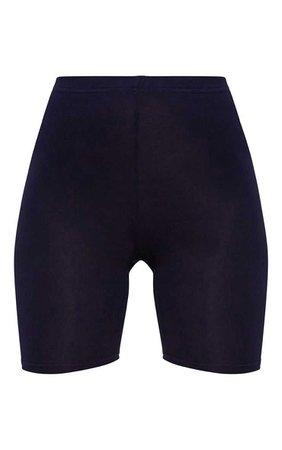 Basic Black Cycle Shorts - Shorts - PrettylittleThing   PrettyLittleThing