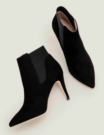 Elsworth Ankle Boots - Black | Boden US