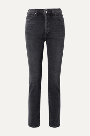 Citizens of Humanity | Olivia high-rise slim-leg jeans | NET-A-PORTER.COM