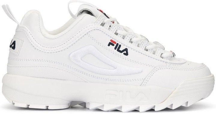 Disruptor II ridged sole sneakers
