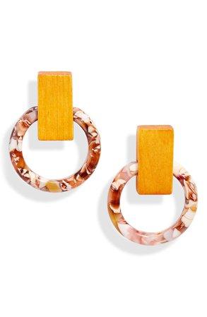 Lele Sadoughi Horsebit Hoop Earrings | Nordstrom