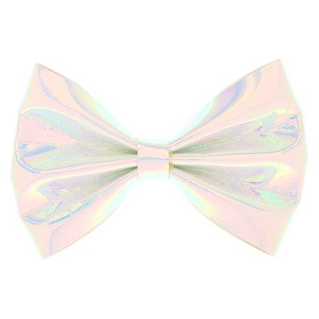 Holo hair bow