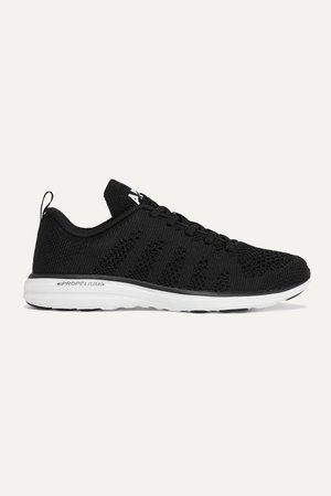 Black TechLoom Pro mesh sneakers | APL Athletic Propulsion Labs | NET-A-PORTER