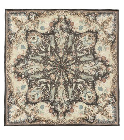 Silk Paisley Print Scarf | Etro - Mytheresa