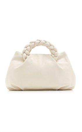 Bombon Large Braided Leather Top Handle Bag by Hereu | Moda Operandi