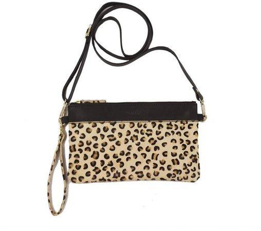 NOOKI DESIGN - Carey Clutch Leopard