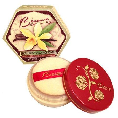 Vanilla Brightening Powder   Classic Elegance Meets Modern Beauty – Besame Cosmetics