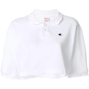 cropped polo shirt for $56.00 available on URSTYLE.com