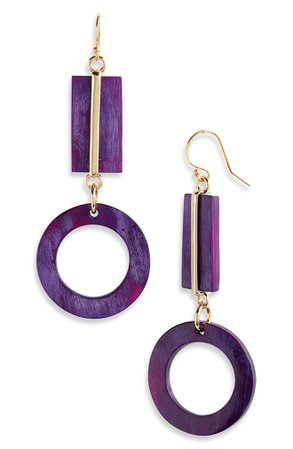 Akola Maya Geometric Drop Earrings | Nordstrom