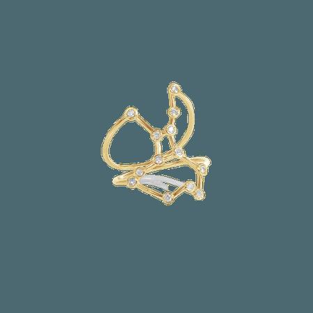 Jessie V E VIRGO CONSTELLATION RING