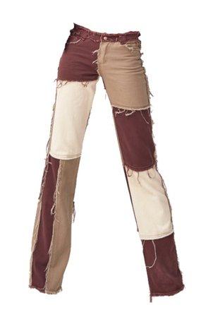jadedldn patchwork jeans