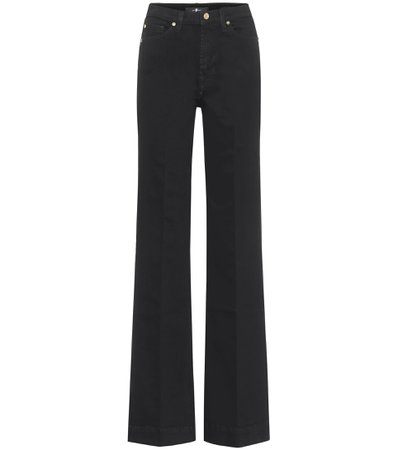 Modern Dojo High-Rise Flared Jeans | 7 For All Mankind - Mytheresa