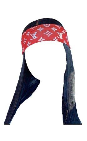 Loui Vuitton Headband Hair