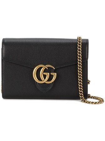 Black GUCCI GG Bag