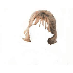 Short Light Brown Hair Blonde PNG