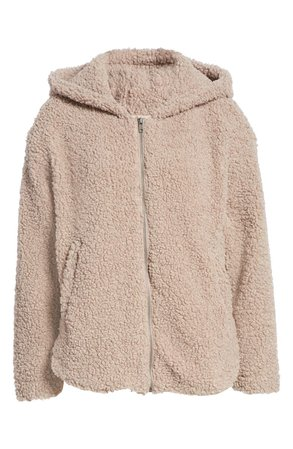 All in Favor Hooded Teddy Bear Jacket   Nordstrom
