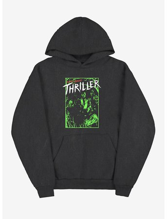 *clipped by @luci-her* Michael Jackson Thriller Neon Hoodie