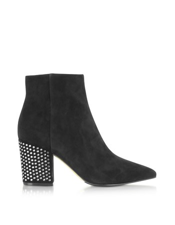 silver black boots heels - Google Search
