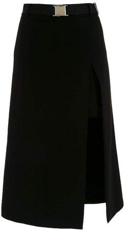 Nk midi belted skirt