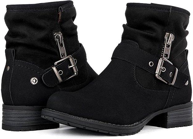 Amazon.com   GLOBALWIN Women's Grey Winter Fasion Boots 6.5M   Snow Boots