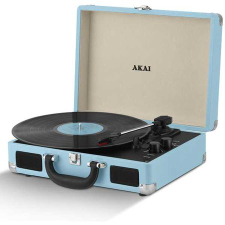 Crosley Turntable (Pastel Blue)