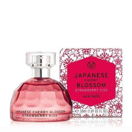 Japanese Cherry Blossom Strawberry Kiss Perfume (The Body Shop)