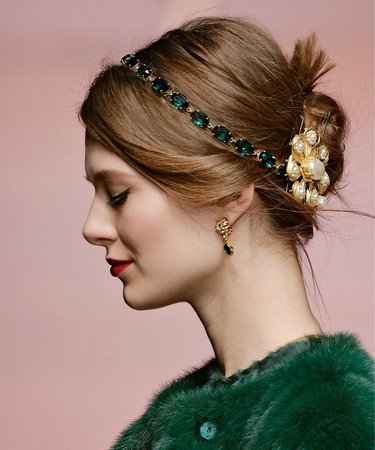 Festive Holiday Hair Accessories | InStyle.com