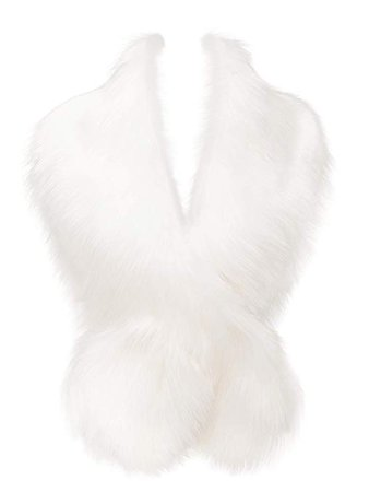 Faux Fur Collar Scarf Shrug for Winter Coat Flapper Fur Feather Boa Gatsby Wrap 1920s Shawl Accessories at Amazon Women's Clothing store: