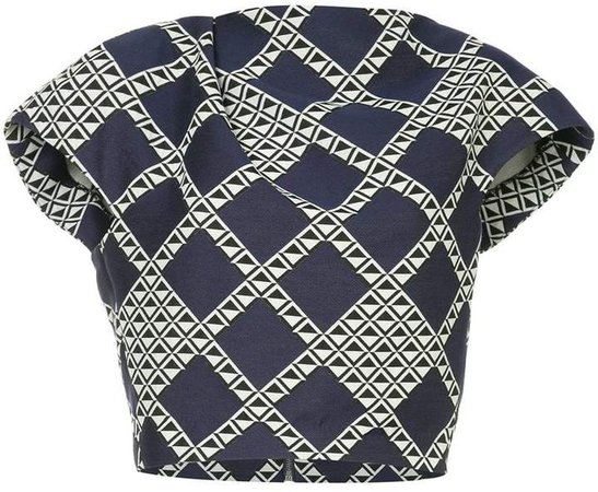 Bianca Spender diamond print T-shirt