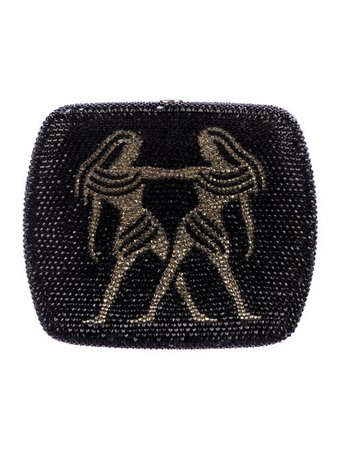 Judith Leiber Embellished Zodiac Clutch - Handbags - JUD33653 | The RealReal