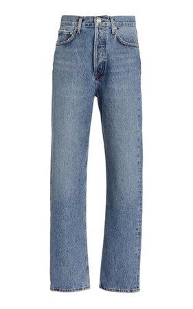 Pinch 90s Rigid High-Rise Straight-Leg Jeans By Agolde | Moda Operandi