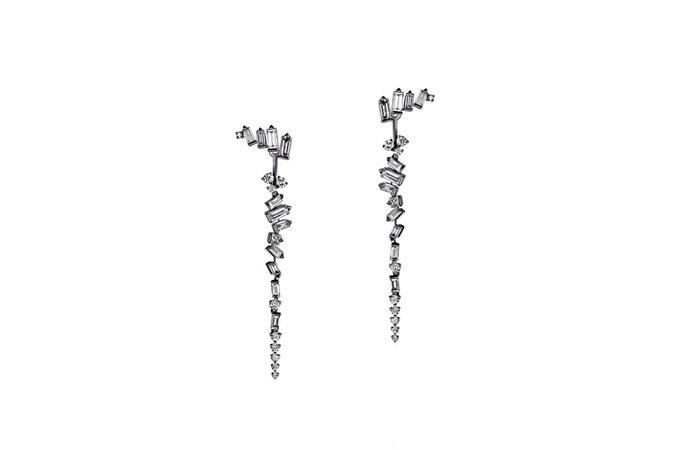 Cosmic Drop Earrings by Tomasz Donocik - Fine Jewellery   Auverture